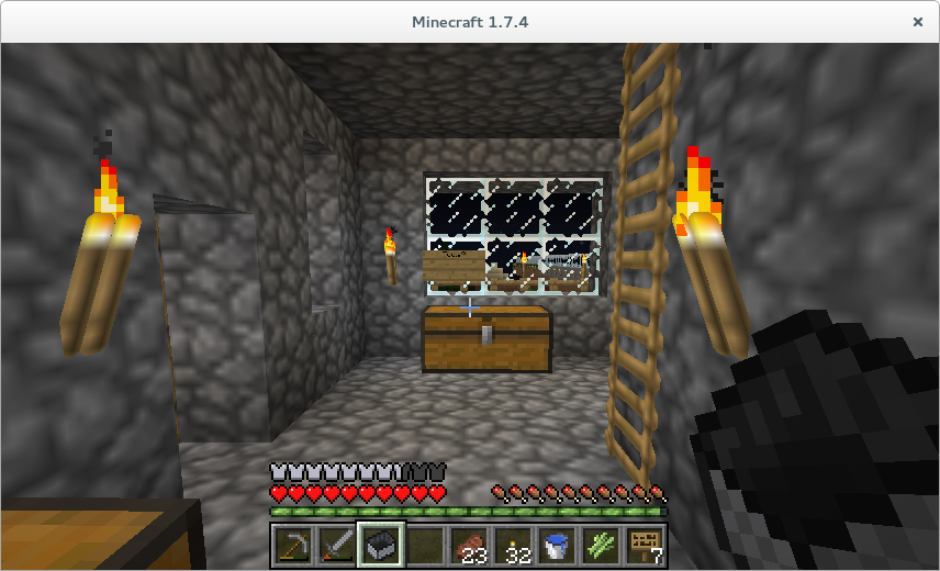 minecraft graphics look weird